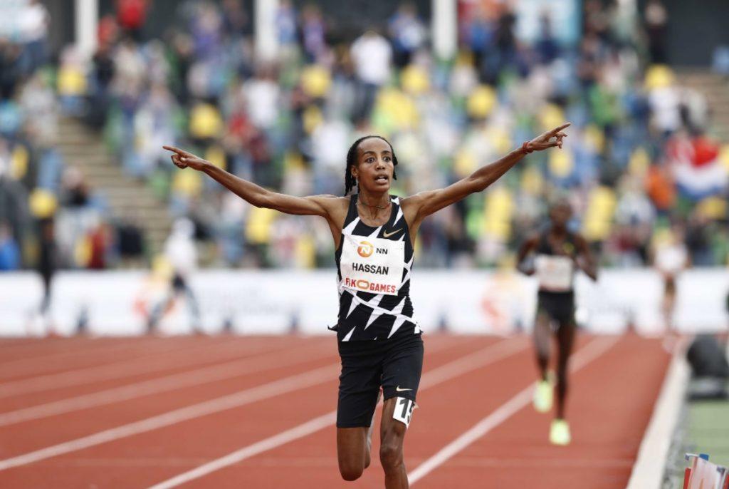 Sifan Hassan quebra o recorde mundial dos 10.000 metros