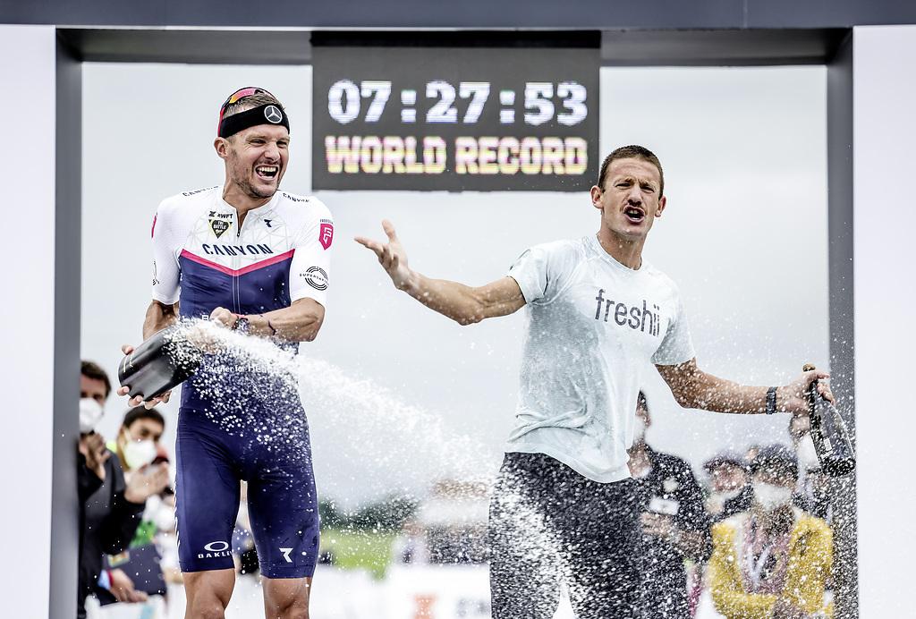 Frodeno quebra recorde mundial de Ironman